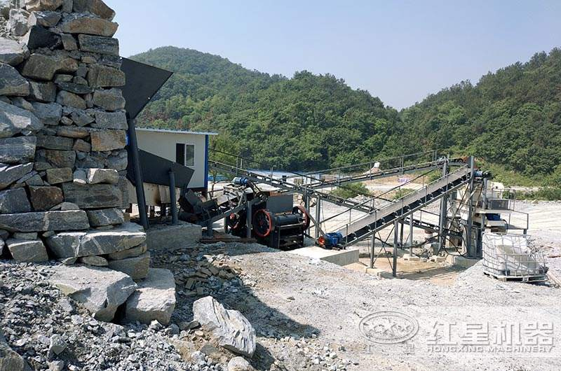 80吨制砂生产线