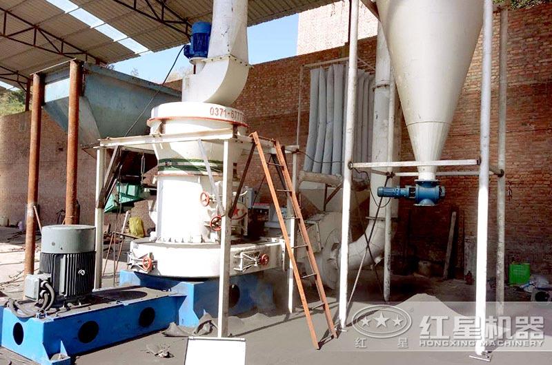 HGM超细磨生产碳酸钙广西现场