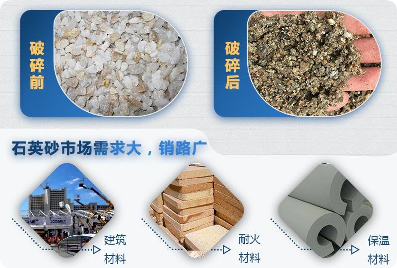 石英砂用途广泛