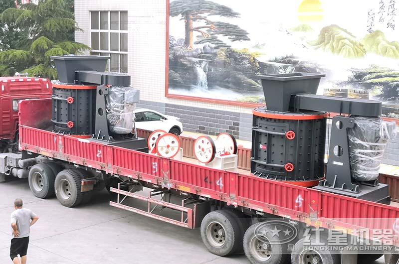 立式粉煤机发货