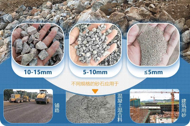 整形石子生产成品用途广泛