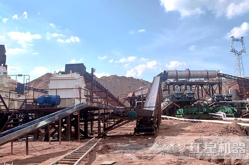 山东年产600吨石灰石制砂项目