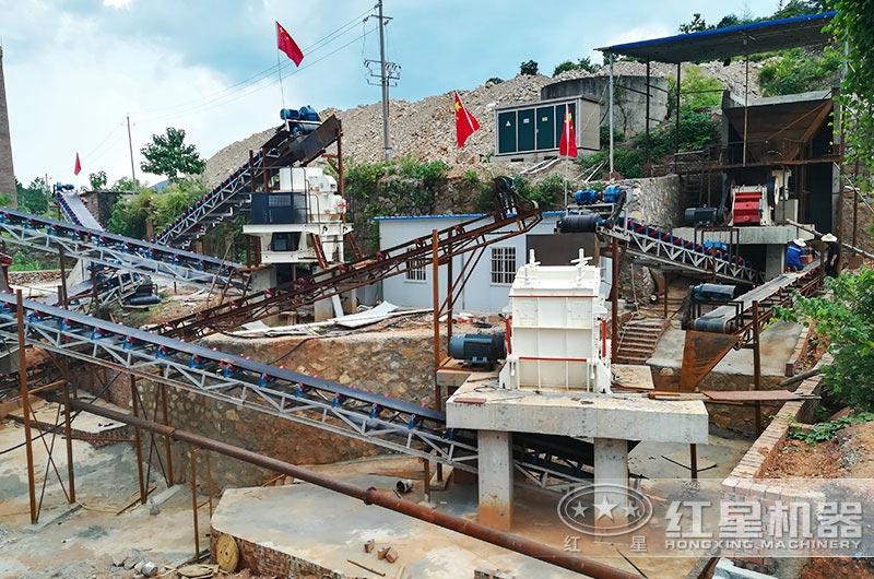 浙江年产400吨凝灰岩制砂项目