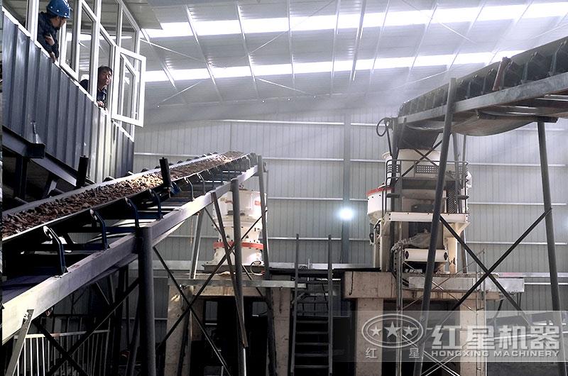 江西年产300吨精品制砂项目