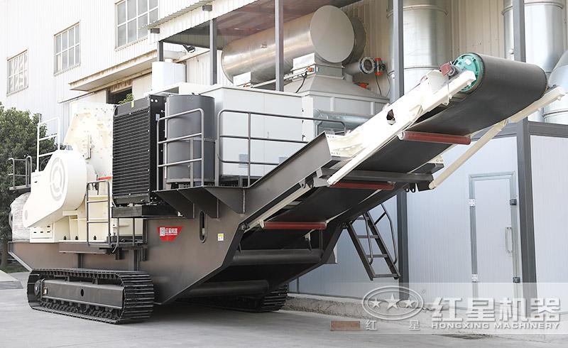 移动制砂生产机