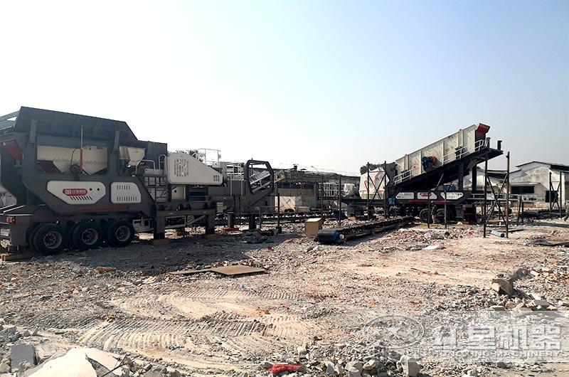 北京建筑垃圾工地处理现场