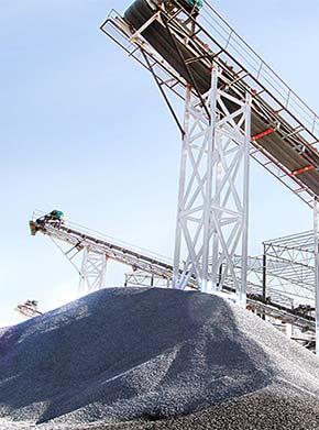 时产700吨石灰石矿山生产破碎系统_出料40-80mm