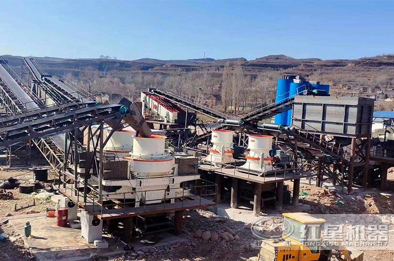 新建大型砂石厂