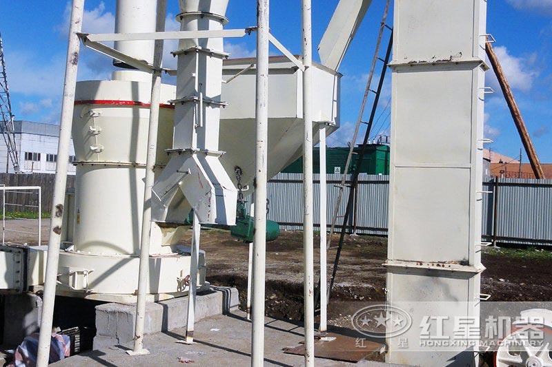山东客户瓦砖粉料制备项目