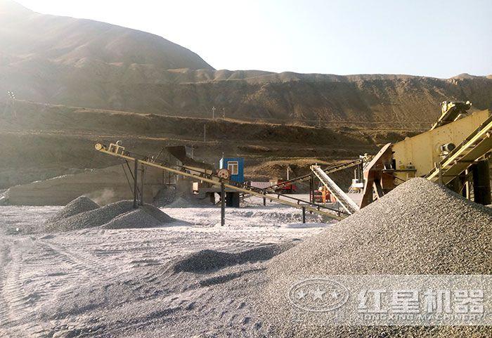 石英砂加工生产工艺