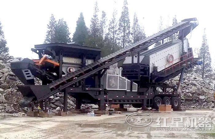 水泥路面破碎机—移动破碎机