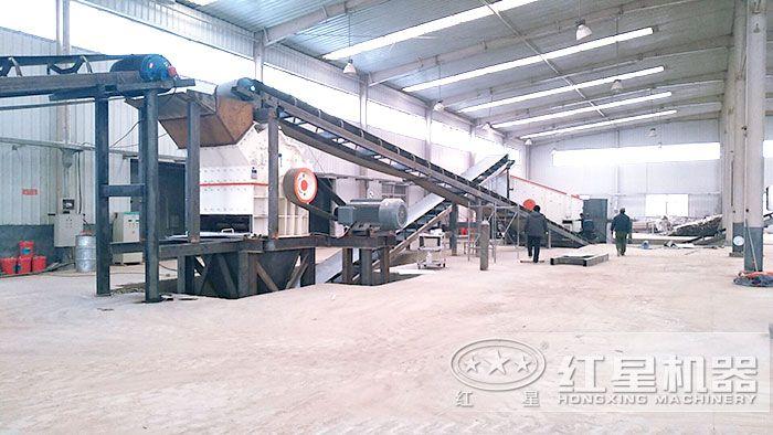 生产细沙生产线