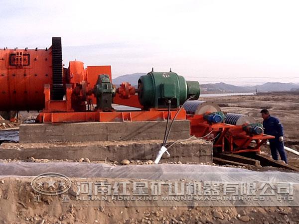 选矿生产线现场