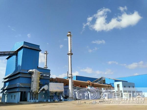 河南三门峡水泥生产线项目
