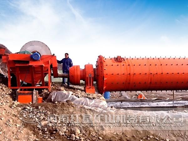 硫铁矿选矿工艺流程