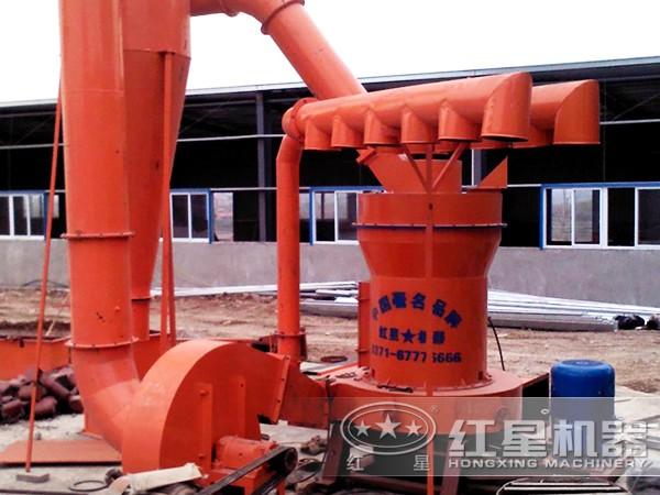 方解石磨粉工艺流程