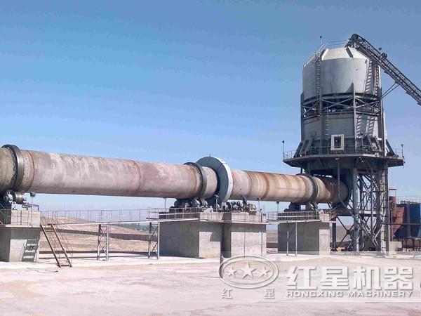 1000吨石灰回转窑