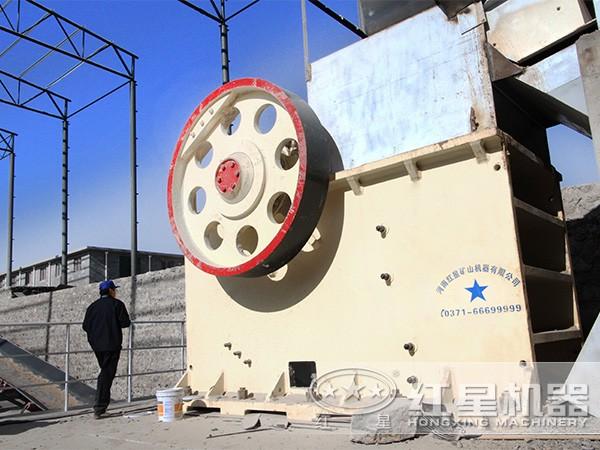 安徽时产3000吨石英砂加工生产线现场