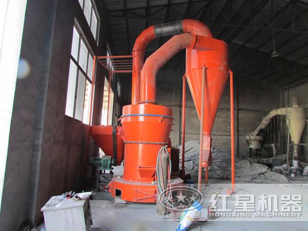 石头磨粉生产工艺流程