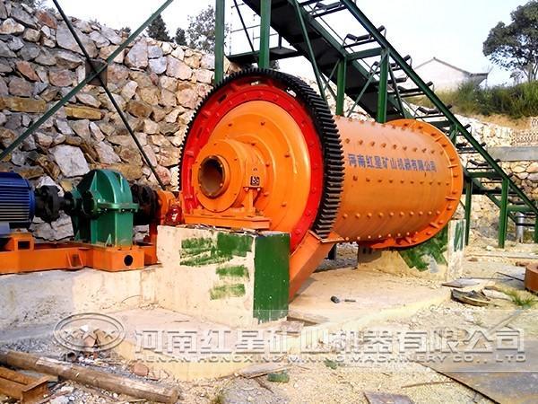 铁矿加工生产线