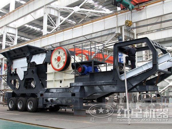 移动式煤炭破碎机结构成熟