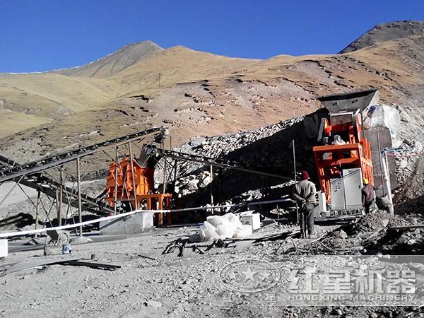 经典砂石设备生产线组合