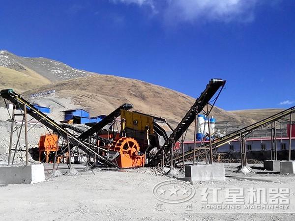 安徽加工玄武岩用碎石制砂生产线流程