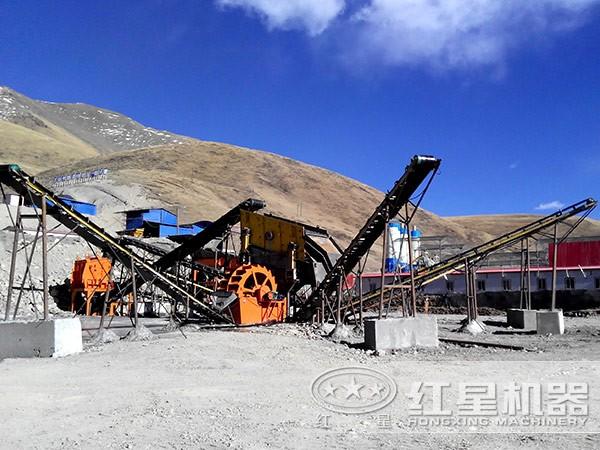 环保砂石生产线优势