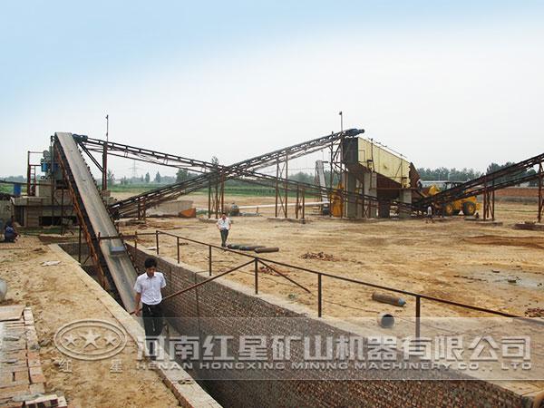 水电站砂石料加工废水的高能处理工艺