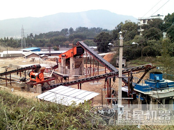 环保砂石生产线