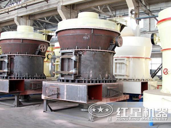 云母磨粉机结构