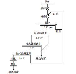 电气石选矿工艺流程