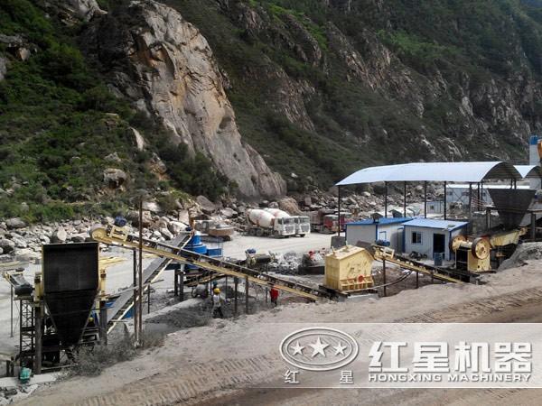 石料厂现场