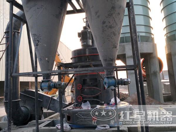 欧版磨粉机现场工艺流程