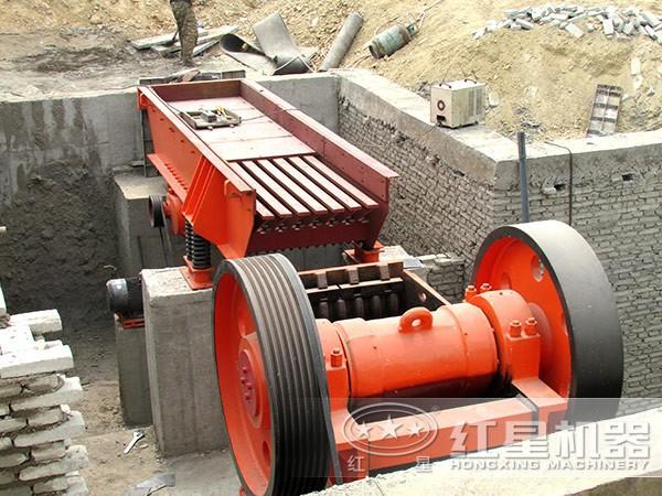 砂石生产线--给料机