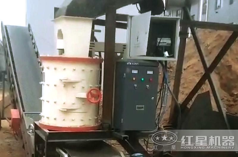 移动复合式破碎机