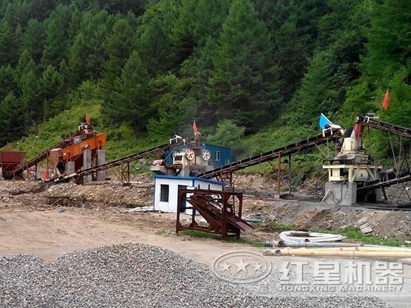 500TH安山岩破碎生产线