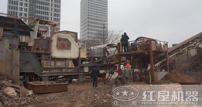 移动式城市固体垃圾破碎站