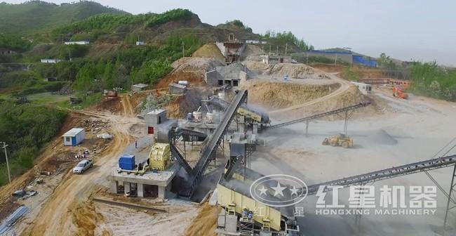 桐柏石料生产线