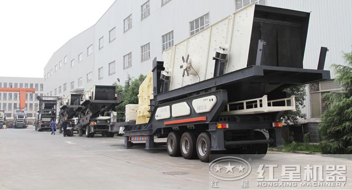 可移动式碎石机生产厂家