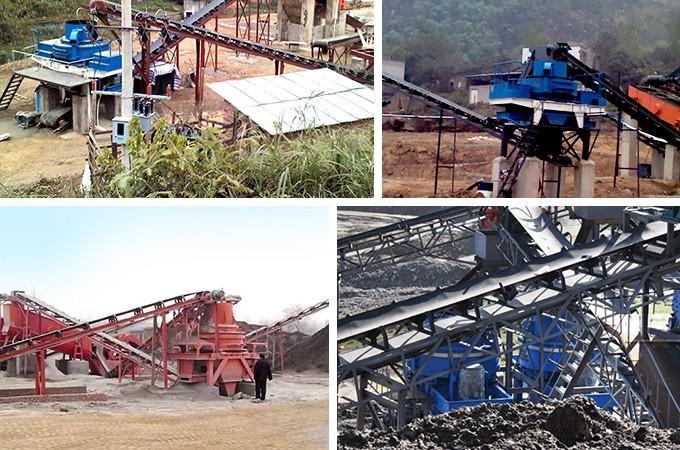 时产100吨风化石制砂机