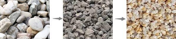 河卵石破碎制砂