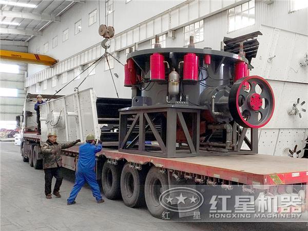 时产150吨全液压圆锥可以提现的二八杠