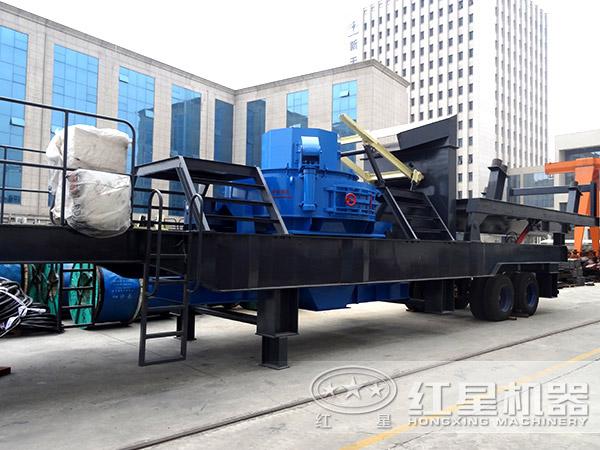 时产120吨HX3S1848T71车载打沙机