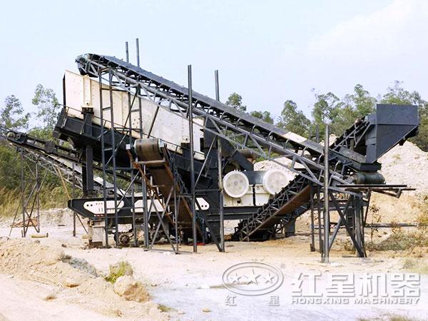 时产280吨流动磕石机
