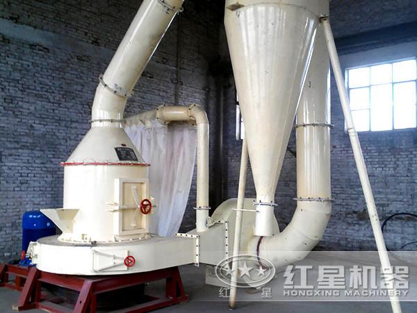 滑石磨粉生产线客户现场