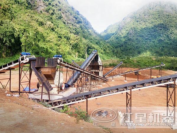 碎石生产线流程