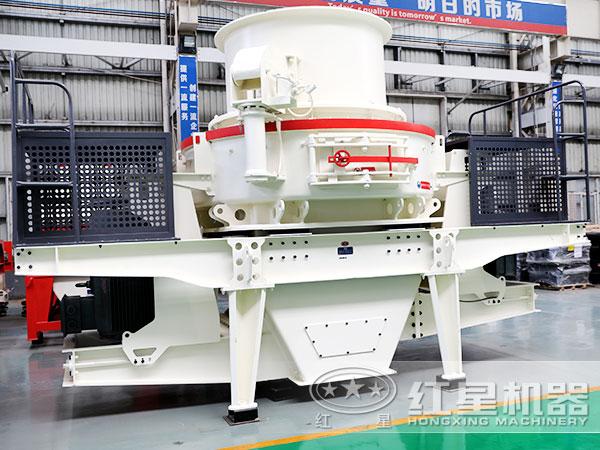 时产200吨花岗岩HVI冲击式制砂机