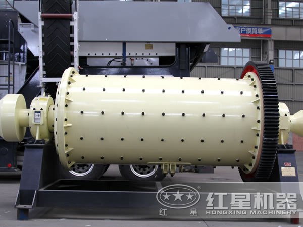 石英石棒磨式制砂机厂区图