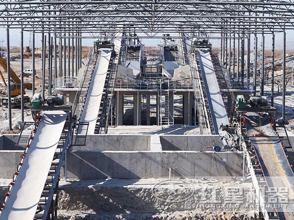 时产300吨石子破碎生产线